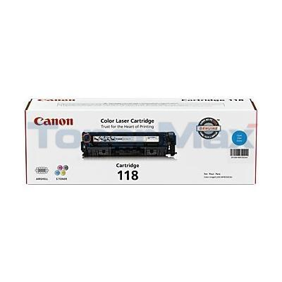 CANON 118 TONER CARTRIDGE CYAN
